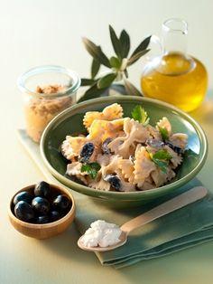Pâtes ricotta et aubergines aux olives noires. http://www.ilgustoitaliano.fr/recette/pates-ricotta-et-aubergines-aux-olives-noires