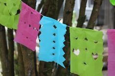Green Owl Art: Papel Picado for Cinco De Mayo
