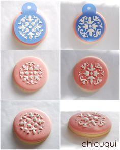 galletas decoradas con stencils.chicuqui.com