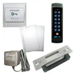 RFID Backlit Mullion Keypad with Heavy Duty Electric Door Strike by APO, YLI. $240.99. This access control keypad set with a Heavy Duty Stainless Steel Electric Door Strike includes the following essential components: Weather proof, Mullion mount back lit RFID Keypad for 1000 RFID or user codes; Heavy Duty Stainless Steel Electric Door Strike; Keypad installation accessories;  2 RFID cards, 120VAC/12VDC_0.8A wall mount power supply; Installation Manual; applicati...