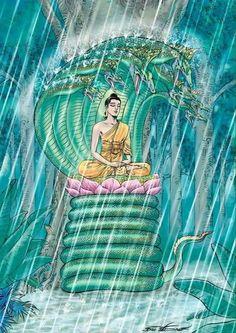 Buddha Life, Buddha Art, Buddhism, Outdoor Decor, Painting, God, Home Decor, Buddha Artwork, Dios