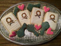 2 dzn ~ Custom Housewarming ~ New Home Cookies - 2 Dozen (24) Custom Sugar Cookies