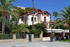 Villa Solimar. Con ella se inicia el recorrido de la ruta de las villas. De…