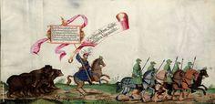Artist: various, Title: »Triumphzug Kaiser Maximilians« Page 85, Date: 1526