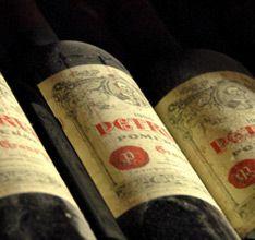 """The restaurant """"Le Cinq"""" Wine cellar"""