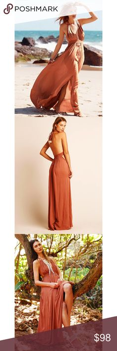 2ead04a213 Free People Look Into the Sun Maxi Dress S BNWOT Free People Look Into the  Sun