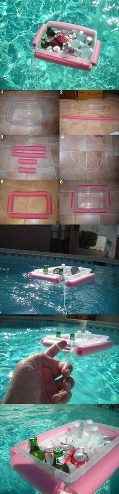 Funny pictures about Perfect DIY for summer. Oh, and cool pics about Perfect DIY for summer. Also, Perfect DIY for summer. Outdoor Cooler, Outdoor Fun, Fun Crafts, Diy And Crafts, Arts And Crafts, Diys, Craft Projects, Projects To Try, Do It Yourself Inspiration
