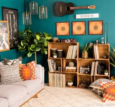 We transformed simple storage pieces into stylish studio must-haves!