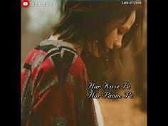 Tujh Bin Nahi Lagda Ji Mera _ female song_ WhatsApp status love song_ by law of love Female Songs, Law Of Love, Dancing Day, Song Status, Love Songs, Song Lyrics, Music, Youtube, Musica