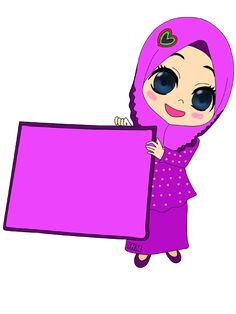 Cute Disney Wallpaper, Cute Cartoon Wallpapers, Powerpoint Background Design, Anime Muslim, School Frame, Hijab Cartoon, Wallpaper Gallery, Borders For Paper, Border Design