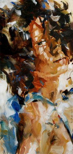 'Noa', oil on panel,