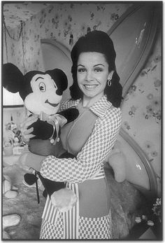 Annette Funicello Disney Mickey Mouse Club Cheerleader Joined Bear, Bears
