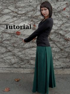 Create your own custom six-gore skirt following this tutorial. Mollytov.