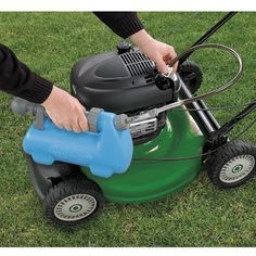 Makes oil changes quick, clean and easy Our Small Engine Oil Changing System vacuums oil out through the dipstick tube of your lawn mower—no need to tip mower to change the oil. The hand pump creates a powerful vacuum through t Lawn Mower Maintenance, Lawn Mower Repair, Lawn Equipment, Riding Lawn Mowers, Inflatable Kayak, Small Engine, Oil Change, Outdoor Landscaping, Motors