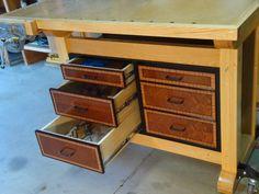 workbench storage - by Julian @ LumberJocks.com ~ woodworking community