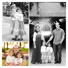 Swoon!! Love these family photos from Dear Kate Studios.