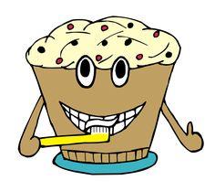 """""""Der Kuchen putzt sich die Zähne."""" Aus dem Lerntipp: Vokabeln in Sätzen lernen."""
