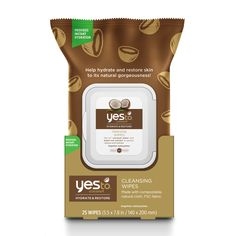 Yes To Coconut Cleansing Wipes x25 - feelunique.com