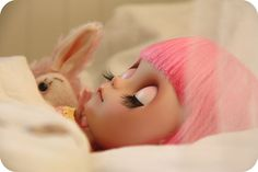 Are in my head...I dream of pink bunny's in my bed...  Adad 2011-238