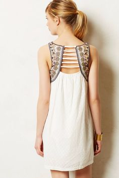 Toda Vista Swing Dress - anthropologie