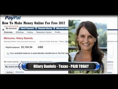 How To Make Money Online For Free 2017 - Earn $2000 To $3000 Per Daty