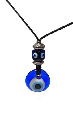 Glass Evil eye Rearview Mirror charm, new driver gift Evil Eye Jewelry, Evil Eye Necklace, Baby Jewelry, Handmade Jewelry, Greek Evil Eye, New Drivers, Evil Eye Charm, Rear View Mirror, Car Accessories