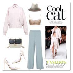 """""""Cool!"""" by tatajrj ❤ liked on Polyvore featuring Chloé, Salvatore Ferragamo, Gianvito Rossi, Valentino and rag & bone"""