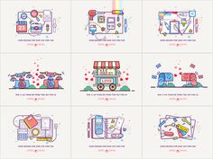 Icon Collection by luking #Design Popular #Dribbble #shots