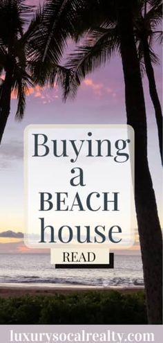 We specialize in beach houses for sale!  With summer upon us, nothing beats a home away from home right on the beach. Learn more about buying a beach house by Compass San Diego Joy Bender #luxurysocalrealty