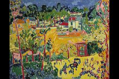 Maurice de Vlaminck: 1905 Paysage de Banlieue