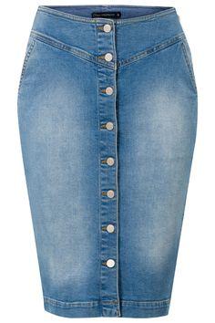 Spijkerrok Blauw Mmm, my must-have this spring :) Modest Denim Skirts, Jean Skirt Outfits, Casual Skirts, Cute Skirts, Denim Fashion, Skirt Fashion, All Jeans, Denim Ideas, Denim Jumpsuit