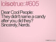 LOL Makes me laugh.