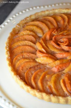 My husband loves persimmon pudding. This is thanksgiving persimmon tart.....might have to try.