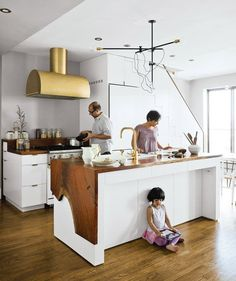Trend Spotting: Gold and Brass in the Kitchen