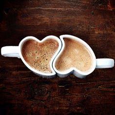 heart shaped mugs #cute #kawaii