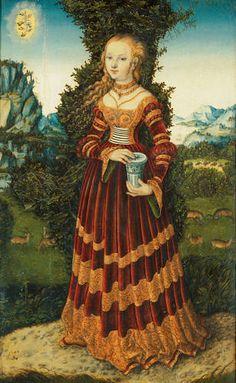 St. Mary Magdalene ~ Cranach