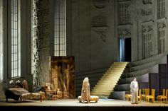 Manon Lescaut for Festspielhaus Baden-Baden 2014. Richard Eyre production. Sets by Rob Howell.