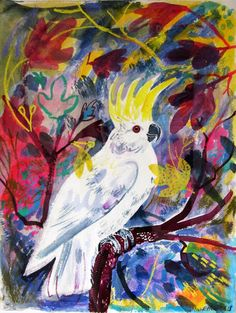 Mark Hearld Sulphur Crested Cockatoo
