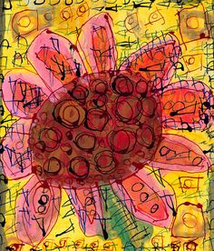 print by nicole $25 created by differently abled adults at open hearts art center, in asheville, nc