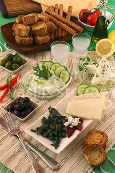 How to Assemble a Meze Platter | Greek Food - Greek Cooking - Greek Recipes by Diane Kochilas