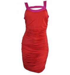 Jay Godfrey Dauman Ruched Mini Dress Sz 8