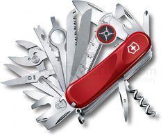 Victorinox Evolution S54 Swiss Army Red Pocketknife
