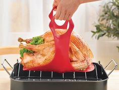 Silicone Roast and Turkey Lifter