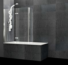 Vasca da bagno angolare con doccia MIX 70 by Jacuzzi Europe ...