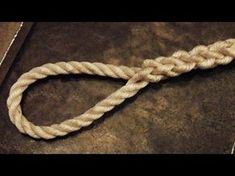 Easy To Follow - How To Tie An Eye Splice In 3 Strand Rope