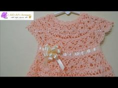 How to Crochet A Baby Dress Any Size -- Part 1 - YouTube