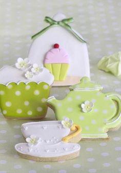 Cookies for tea.