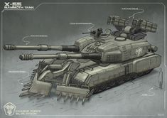 ArtStation - Mammoth Tank Redesign, Alexander Kuronen