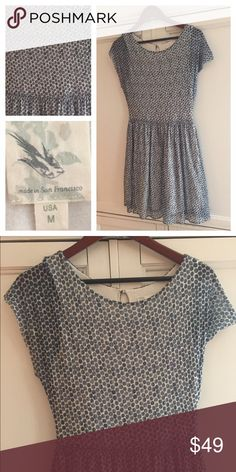 """ANTHROPOLOGIE Dress POLKA DOT Made San Francisco So Chic!! In gentle pre-owned condition. Bust 37"""". Length 36"""" Anthropologie Dresses"""