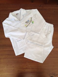 Blue Monkey Flannelette Pyjamas – www.minorbyrd.com.au Childrens Pyjamas, Cotton Pyjamas, Monkey, Style, Swag, Jumpsuit, Monkeys, Outfits, At Sign
